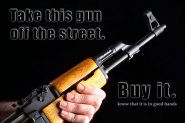 AK-47 in good hands...YOURS!